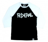 Federal 3/4 BRUNO 2 T-shirt Black/White