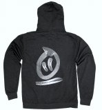 Thebikebros DISTORTED Zip Hoodie Heather Black