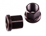 TBB-BIKE CRMO Axle Nuts CNC Black