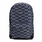 Cult CHECKER Backpack Black