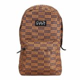 Cult CHECKER Backpack Brown
