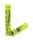 Subrosa DIALED DCR Grips Yellow/Black Swirl