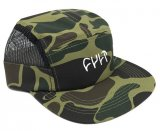 Cult LOGO 5 Panel Camper Hat Camo