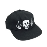 Cult POLITICS 5 Panel Cap Black