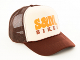 S&M KEEP ON TRUCKIN Trucker Hat Brown