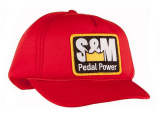 S&M PEDAL POWER Winter Trucker Cap Red