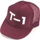 Terrible One BADGE Mesh Cap Dark Red