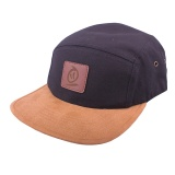 Thebikebros BADGE 5 Panel hat Black