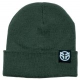 Federal LOGO Beanie Olive Green