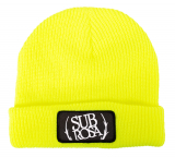 Subrosa BOLD PATCH Beanie Highlighter Yellow