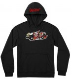 Shadow CAT RIOT Hoodie Black
