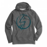 Shadow TAG Hoodie Dark Heather Grey