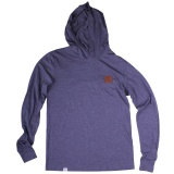 Thebikebros BADGE Hoodie Heather Navy