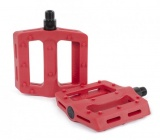Shadow SURFACE Plastic Pedals Crimson Red