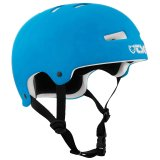 TSG EVOLUTION Youth Solid Color Helmet Dark Cyan/ White