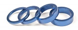 Salt Alu Headset Spacers Blue