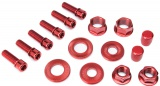 Salt NUT/ BOLT Set Red