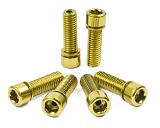 Shadow Hollow Stem Bolts Gold
