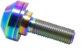 "TLC Bikes Titanium Hub Bolt 3/8"" / 14mm"