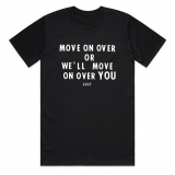 Cult MOVE ON OVER T-Shirt Black